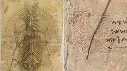 Leonardo Da Vinci ha lasciato l'impronta del suo pollice in un'opera ora in