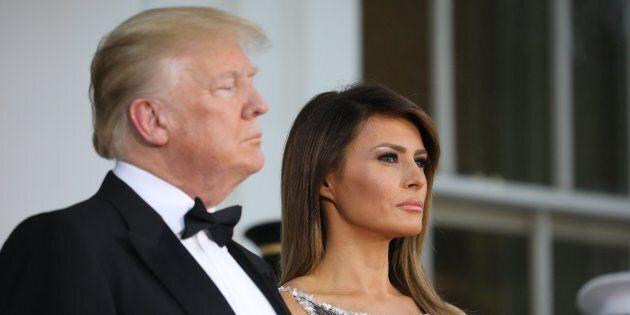 Donald Trump e Melania, separati in Casa