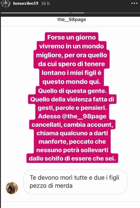 Un hater minaccia i figli di Bonucci: la risposta del calciatore attira la solidarietà di