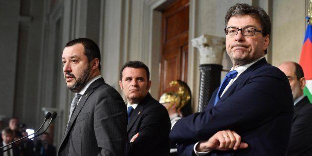 Giancarlo Giorgetti, braccio destro di Salvini: