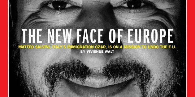 Matteo Salvini conquista la copertina del