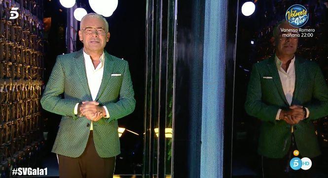 Así ha reaparecido Jorge Javier Vázquez en 'Supervivientes