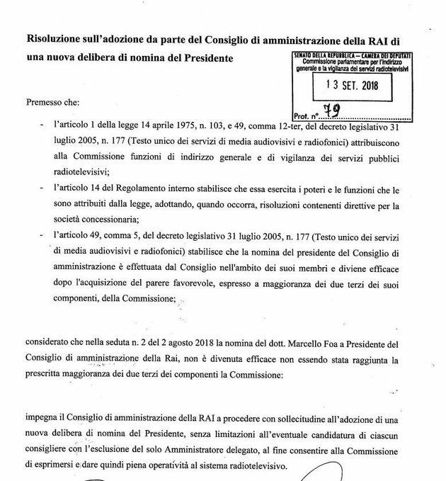 Il presidente Rai per la Lega è Foa. Ma la trattativa con Berlusconi non è