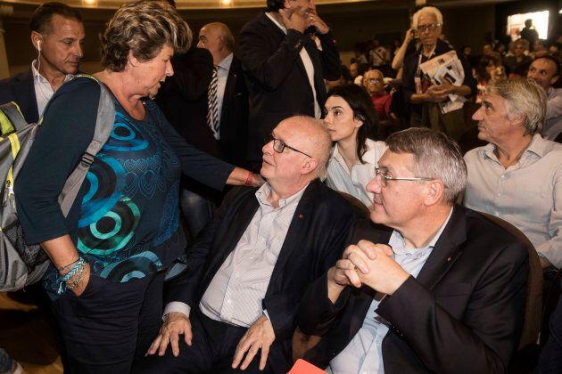 Nella foto Camusso, Baseotto e Landini all'inaugurazione delle Giornate del Lavoro 2018, in programma...