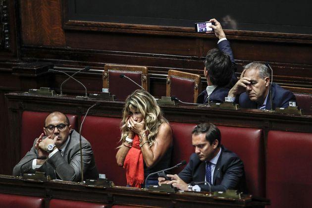 Un momento alla Camera durante la seduta fiume sul decreto Milleproroghe, Roma 14 settembre 2018. ANSA/GIUSEPPE