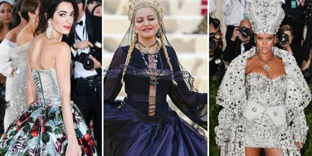 Metgala 2018: sacro e moda al Met tra unicorni e vesti papali. Tutti i