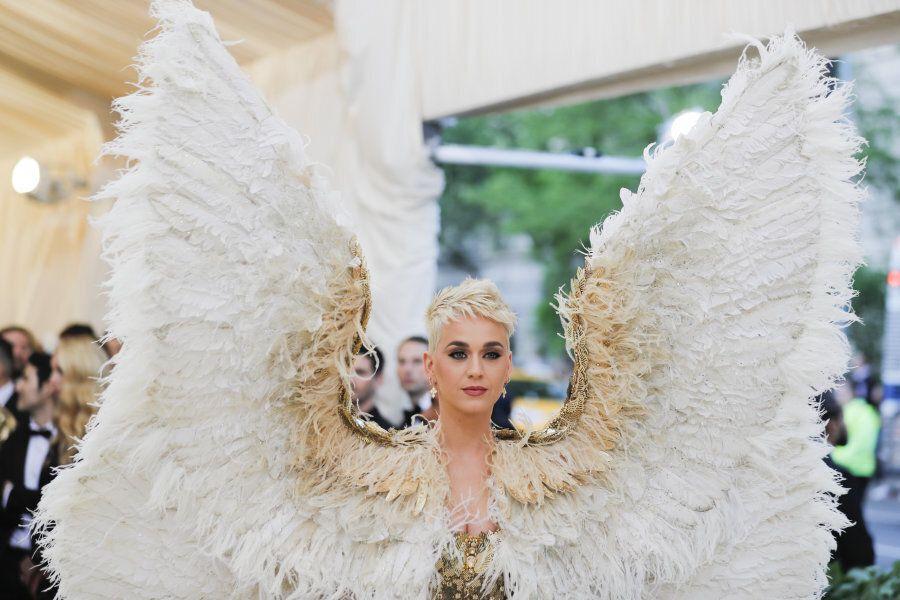 Singer-Songwriter Katy Perry arrives at the Metropolitan Museum of Art Costume Institute Gala (Met Gala)...