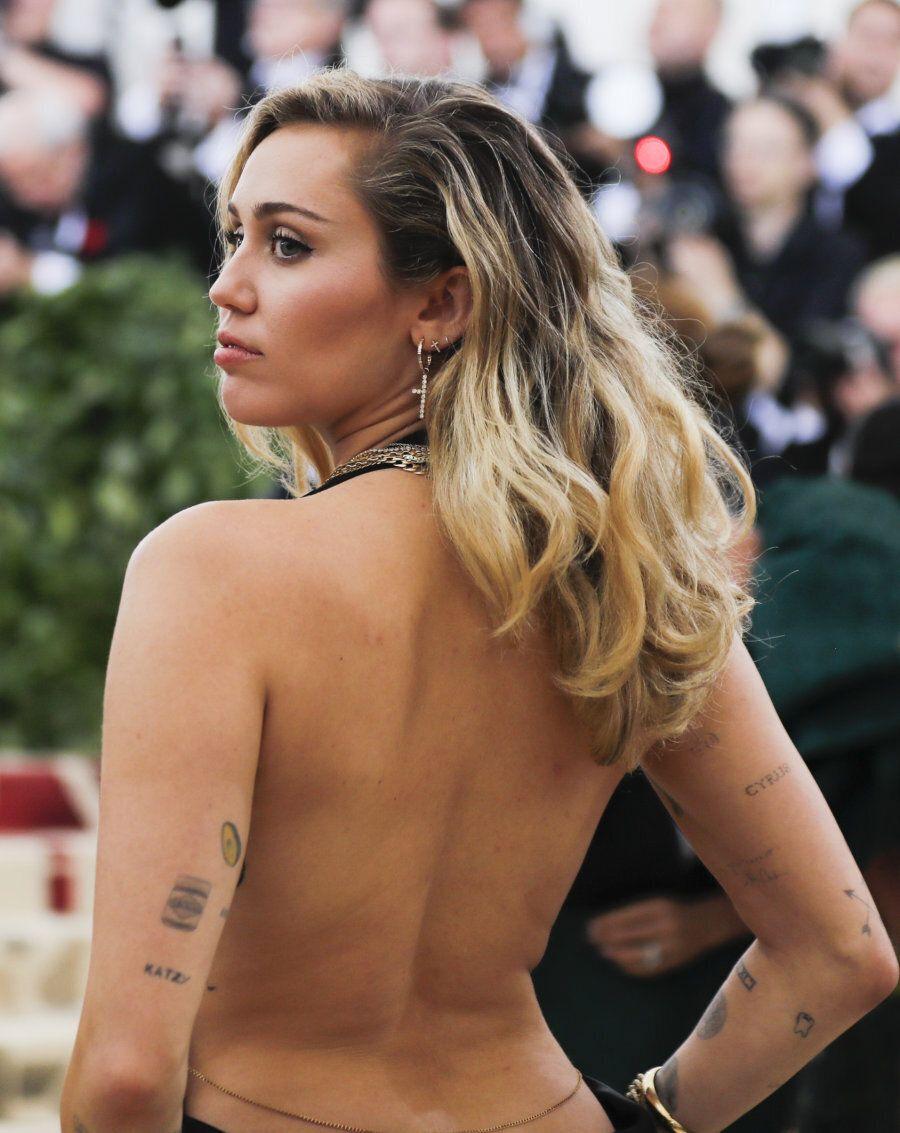 Singer-Songwriter Miley Cyrus arrives at the Metropolitan Museum of Art Costume Institute Gala (Met Gala)...
