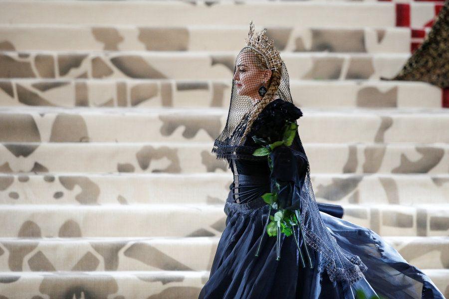 Singer-Songwriter Madonna arrives at the Metropolitan Museum of Art Costume Institute Gala (Met Gala)...