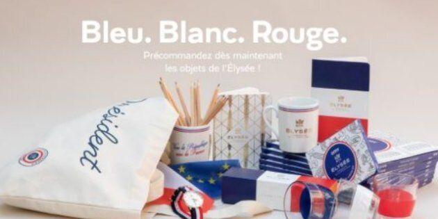 Tazze, magliette e mutande Made in Macron per restaurare