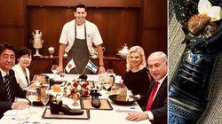 Il dessert nella scarpa dello chef Moshe fa
