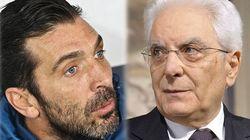 Buffon a Mattarella: