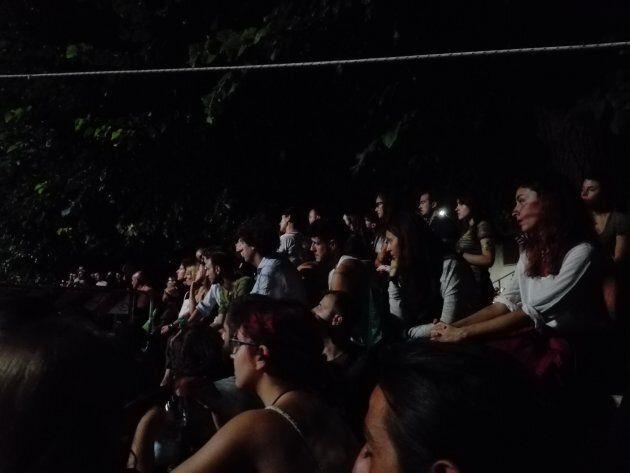 Cronaca di una notte fra il pubblico de La Sapienza di Roma ammutolito e commosso dal film su Stefano