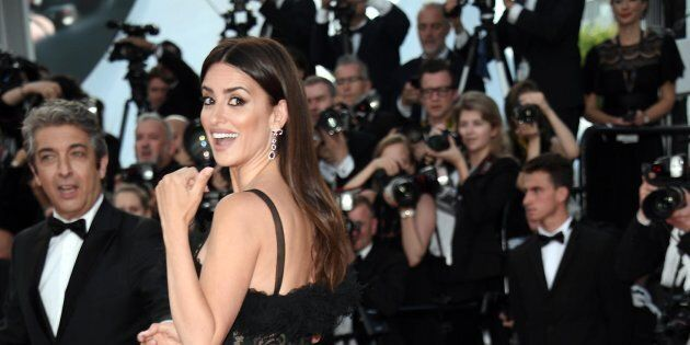 08/05/2018 71 Festival di Cannes. Red carpet della Cerimonia di apertura con il film Todos Lo Saben,...