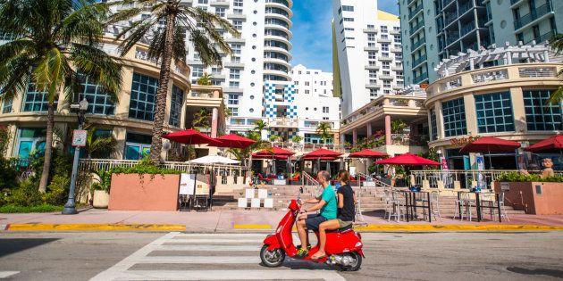 Miami beach dichiara guerra ai turisti in Vespa: