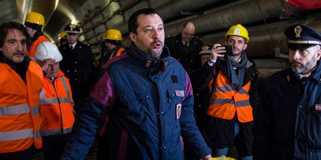 Salvini sfida M5s e propone una Tav