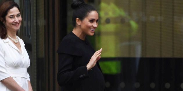 La principessa Meghan ha una gravidanza