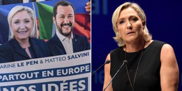 Marine Le Pen cavalca l'onda Salvini per rilanciarsi in vista delle