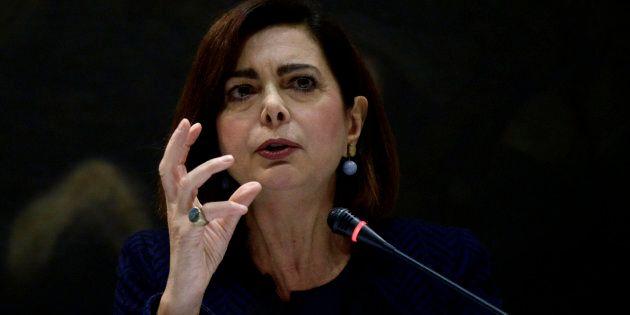 Boldrini in aula al processo contro il leghista Camiciottoli: