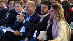 Le reazioni social ai tre discorsi della convenzione Pd, Facebook