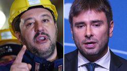 Salvini contro Di Battista: