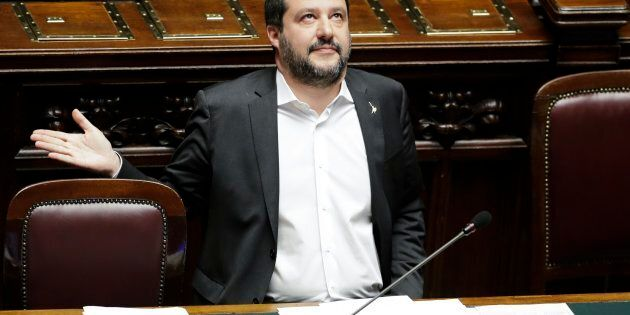 Matteo Salvini sotto
