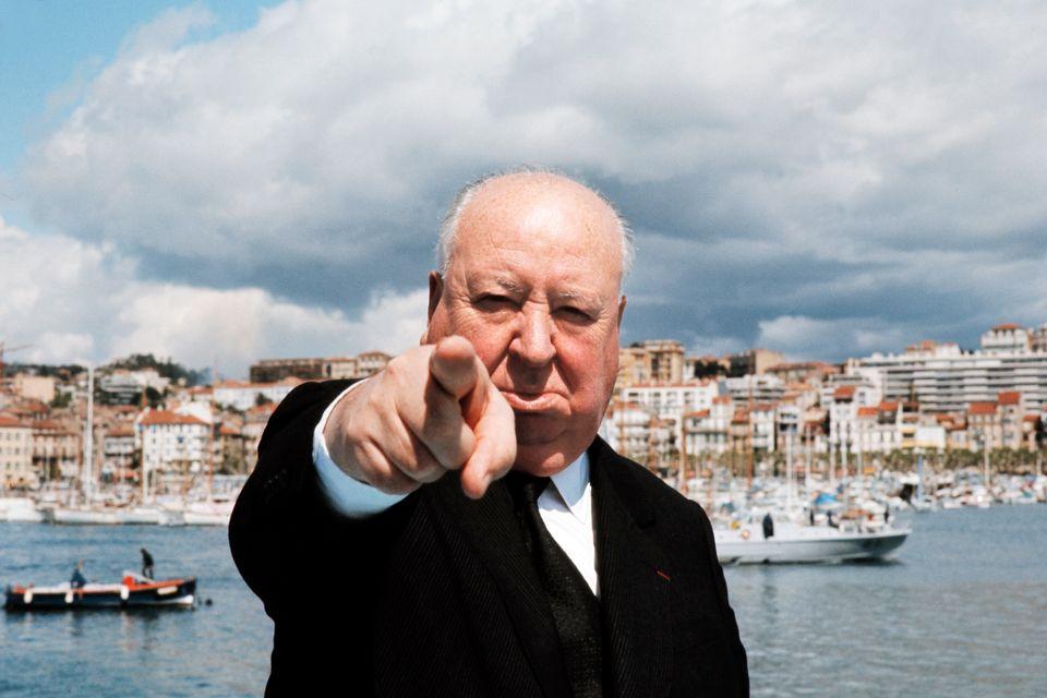 Maggio 1972, il maestro della suspense Alfred Hitchcock (1899-1980) a Cannes prima del festival. (Photo...
