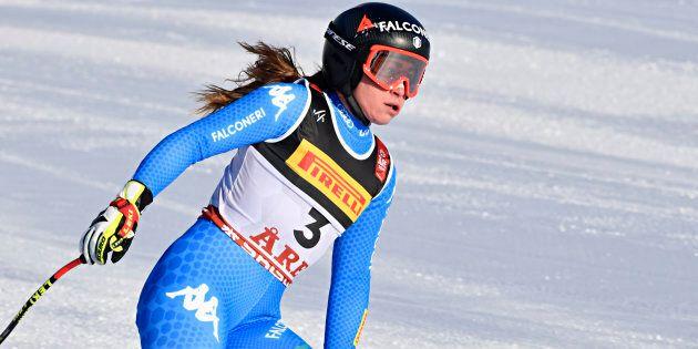 Sofia Goggia argento in SuperG ai Mondiali di sci di