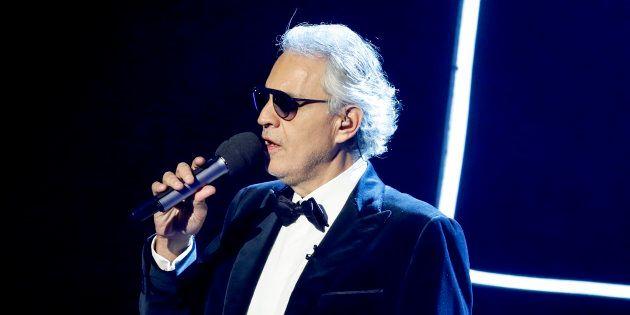 Andrea Bocelli a Sanremo: