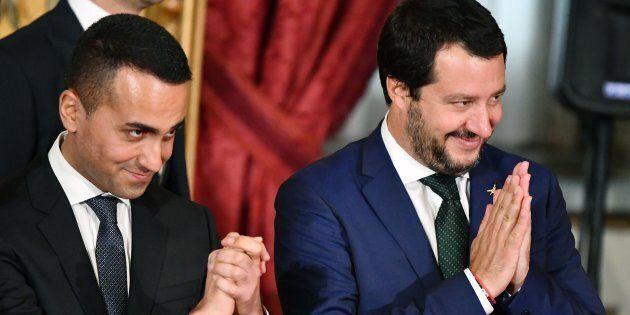 Il Governo dei vicepremier: nei sondaggi Salvini è il più gradito, Di Maio il più