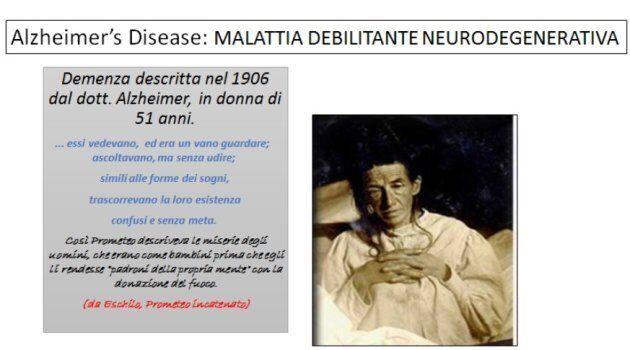 La signora Auguste Deter, paziente affetta da una strana forma di demenza, fu studiata dal medico tedesco...