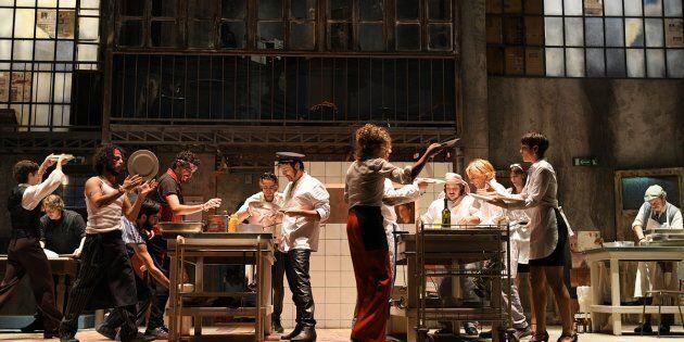 La cucina di Wesker, una Babele senza