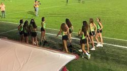Minorenni seminude raccattapalle per la squadra di calcio di Vicenza. È polemica: