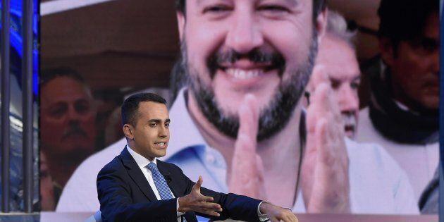 Luigi Di Maio durante la trasmissione Porta a Porta di Rai 1, Roma 02 Maggio 2018ANSA / LUIGI