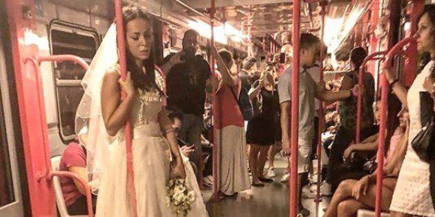 Una sposa triste si aggira per le vie di Milano. Il mistero coinvolge i