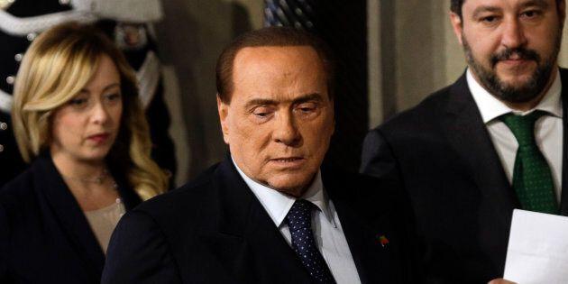 In Abruzzo la foto di Salvini, Berlusconi e