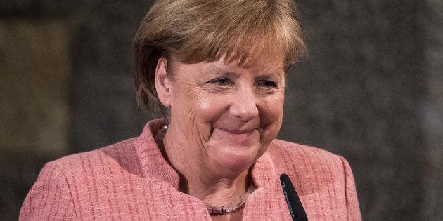 Angela Merkel ad Assisi, riceve la Lampada di San Francesco: