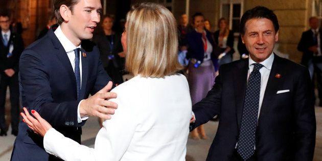 Tenaglia europea per l'Italia a Salisburgo: alla cena dei leader nessuna apertura sulla revisione della...