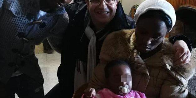 Fatih, Yousuf e la piccola Samila, cacciati dal Cara, accolti dalla comunità di Caccuri: