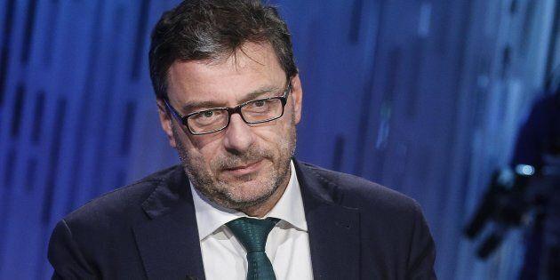Giancarlo Giorgetti sulla manovra: