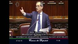 Tria sbotta in Aula contro Brunetta: