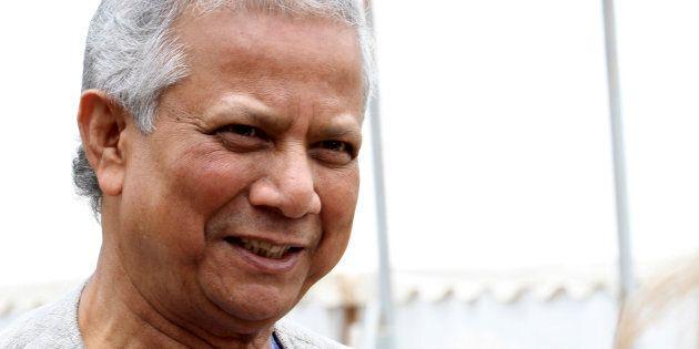 Il premio Nobel Yunus: