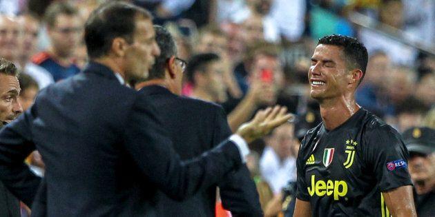 Così Ronaldo è tornato, in lacrime, sulla