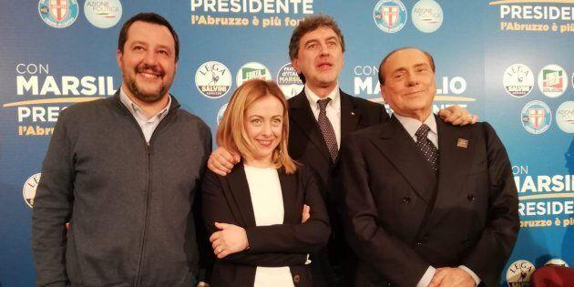 Salvini dice no al patto dell'arrosticino. Dal centrodestra in Abruzzo la fotografia di una coalizione...