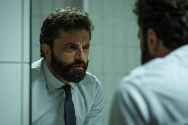 Una foto di scena tratta dalla serie tv 'Il miracolo' ideata e diretta da Niccol� Ammaniti in onda...