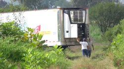 Ritrovati 300 cadaveri stipati in due camion
