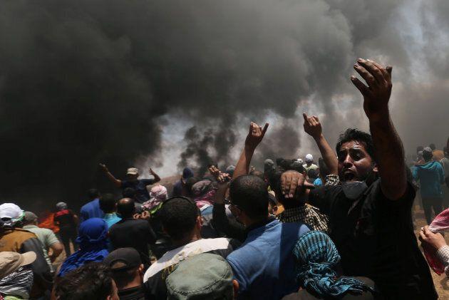Almeno 52 palestinesi uccisi a Gaza nel giorno dell'inaugurazione dell'ambasciata Usa a Gerusalemme....