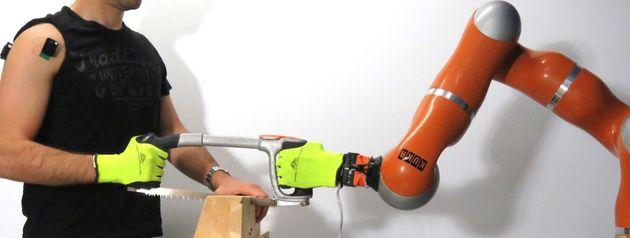 Quando i robot lavorano con