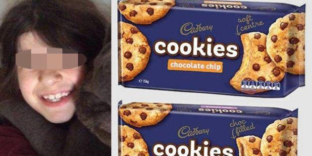 La madre sbaglia a comprare i biscotti, la figlia di 9 anni muore per una reazione