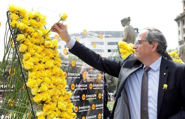 La Junta Electoral Central expedienta a Torra por su mensaje institucional en Sant